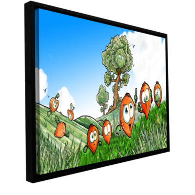 Brushstone Seeds Gallery Wrapped Floater-Framed Canvas Wall Art