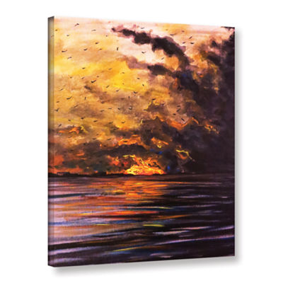 Brushstone Smolder Gallery Wrapped Canvas Wall Art