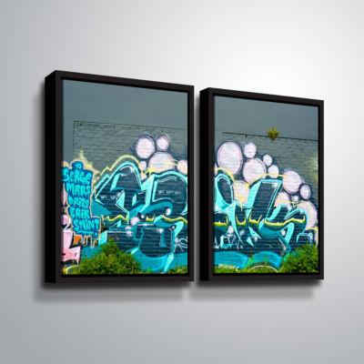 Brushstone Serge Mars 2-pc. Floater Framed CanvasWall Art