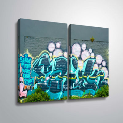 Brushstone Serge Mars 2-pc. Gallery Wrapped CanvasWall Art