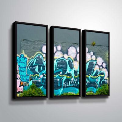 Brushstone Serge Mars 3-pc. Floater Framed CanvasWall Art