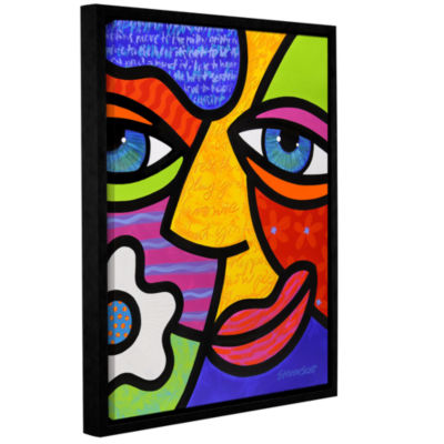 Brushstone Sabrina Starr Gallery Wrapped Floater-Framed Canvas Wall Art