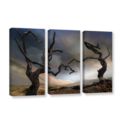 Brushstone Solitary Together 3-pc. Gallery WrappedCanvas Wall Art