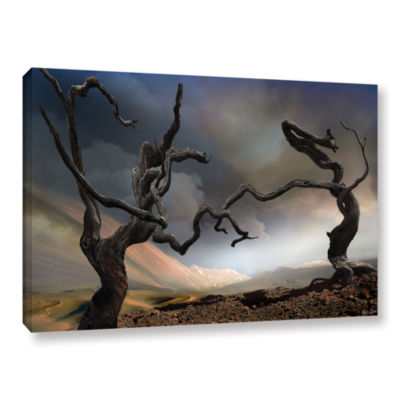 Brushstone Solitary Together Gallery Wrapped Canvas Wall Art