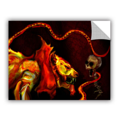 Brushstone Shadow Of The Beast Removable Wall Decal