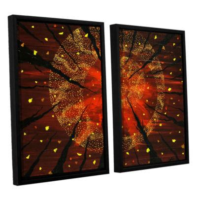Brushstone Shaman's Dream 2-pc. Floater Framed Canvas Wall Art