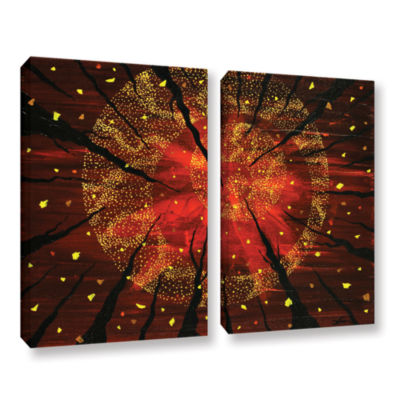 Brushstone Shaman's Dream 2-pc. Gallery Wrapped Canvas Wall Art