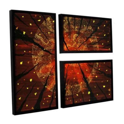 Brushstone Shaman's Dream 3-pc. Flag Floater Framed Canvas Wall Art