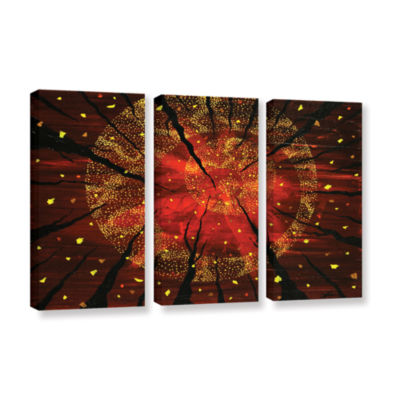 Brushstone Shaman's Dream 3-pc. Gallery Wrapped Canvas Wall Art