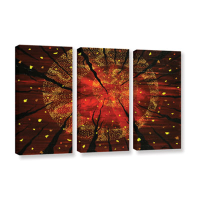Brushstone Shaman's Dream 3-pc. Gallery Wrapped Canvas Wall Art