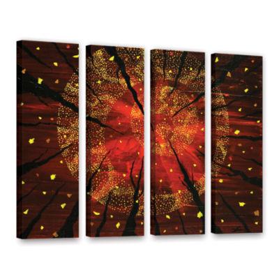 Brushstone Shaman's Dream 4-pc. Gallery Wrapped Canvas Wall Art