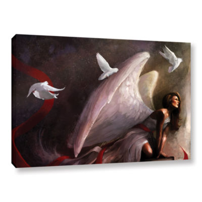 Brushstone Sometimes They Weep Gallery Wrapped Canvas Wall Art
