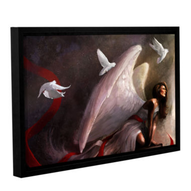 Brushstone Sometimes They Weep Gallery Wrapped Floater-Framed Canvas Wall Art