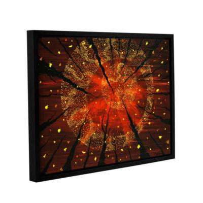 Brushstone Shaman's Dream Gallery Wrapped Floater-Framed Canvas Wall Art