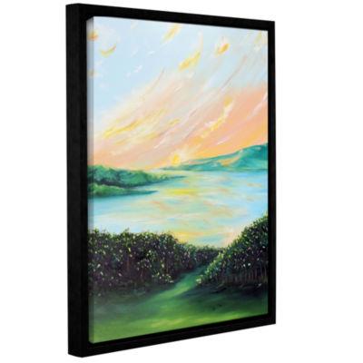Brushstone Seeded Spirit Gallery Wrapped Floater-Framed Canvas Wall Art