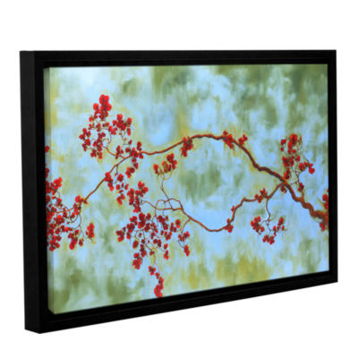 Brushstone St Clair Bloom Gallery Wrapped Floater-Framed Canvas Wall Art