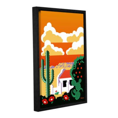 Brushstone Southwest Gallery Wrapped Floater-Framed Canvas Wall Art
