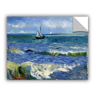 Brushstone Seascape At Saintes Maries Removable Wall Decal