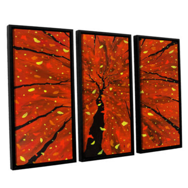 Brushstone Spellbound 3-pc. Floater Framed CanvasWall Art