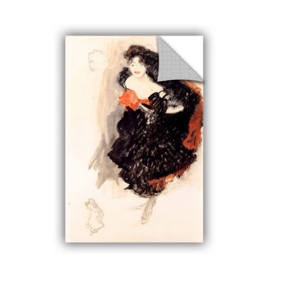 Brushstone Study of Judith Removable Wall Decal