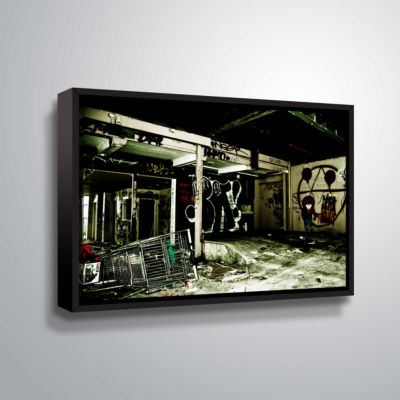 Brushstone Spooky House 9 Gallery Wrapped Floater-Framed Canvas Wall Art