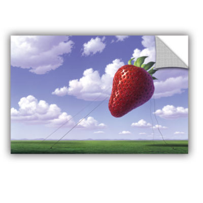 Brushstone Strawberry Field Removable Wall Decal