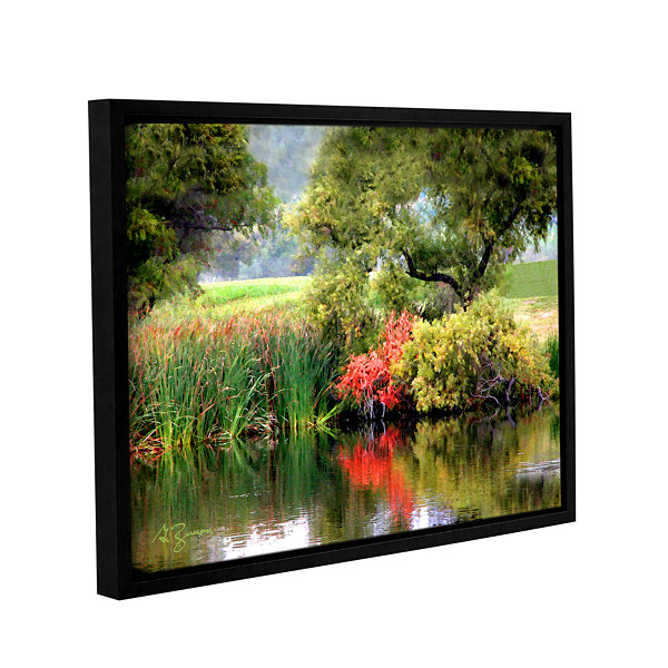 Brushstone Santee Lakes Gallery Wrapped Floater-Framed Canvas Wall Art