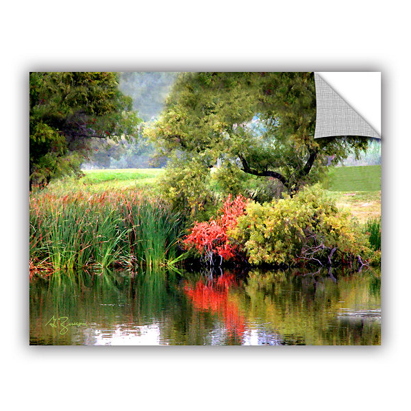 Brushstone Santee Lakes Removable Wall Decal