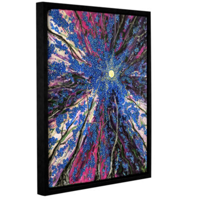 Brushstone Spring Dance Gallery Wrapped Floater-Framed Canvas Wall Art
