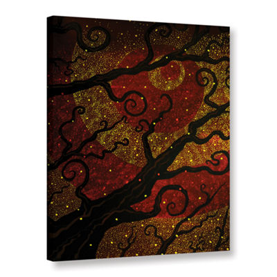 Brushstone Starburst Gallery Wrapped Canvas Wall Art