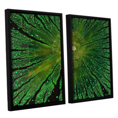 Brushstone Summer Shudder 2-pc. Floater Framed Canvas Wall Art