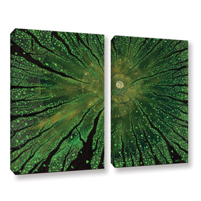 Brushstone Summer Shudder 2-pc. Gallery Wrapped Canvas Wall Art
