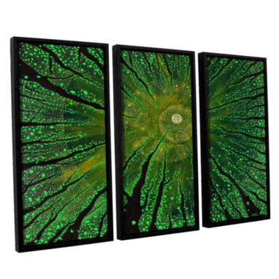 Brushstone Summer Shudder 3-pc. Floater Framed Canvas Wall Art