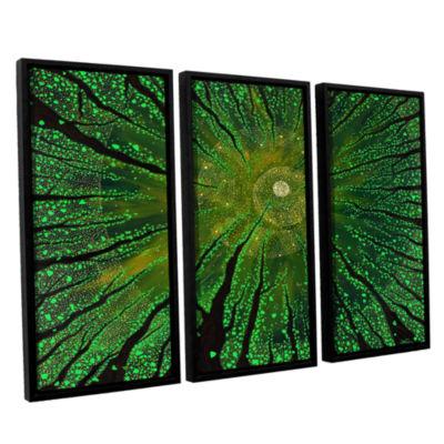 Brushstone Summer Shudder 3-pc. Floater Framed Canvas Wall Art