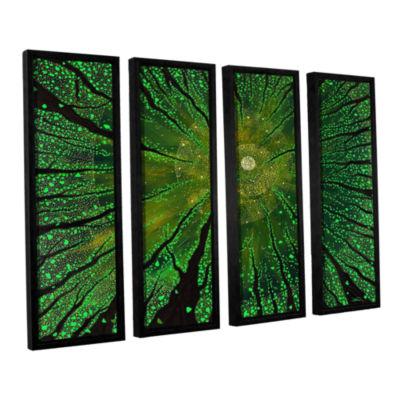 Brushstone Summer Shudder 4-pc. Floater Framed Canvas Wall Art