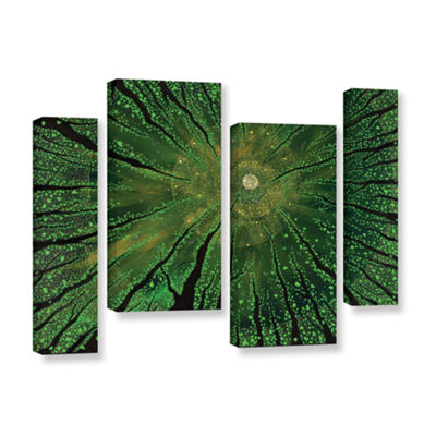 Brushstone Summer Shudder 4-pc. Gallery Wrapped Staggered Canvas Wall Art