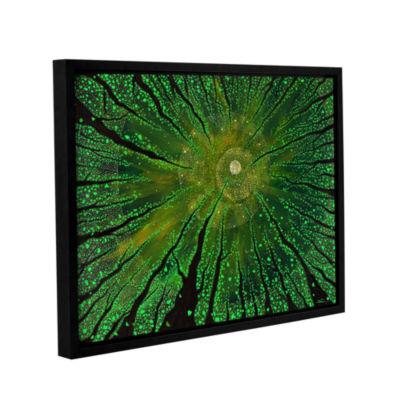 Brushstone Summer Shudder Gallery Wrapped Floater-Framed Canvas Wall Art