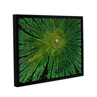 Brushstone Summer Shudder Gallery Wrapped Floater-Framed Canvas Wall Art