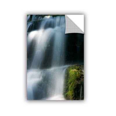 Brushstone Staircase Waterfall 1 Removable Wall Decal
