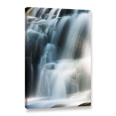 Brushstone Staircase Waterfall 2 Gallery Wrapped Canvas Wall Art