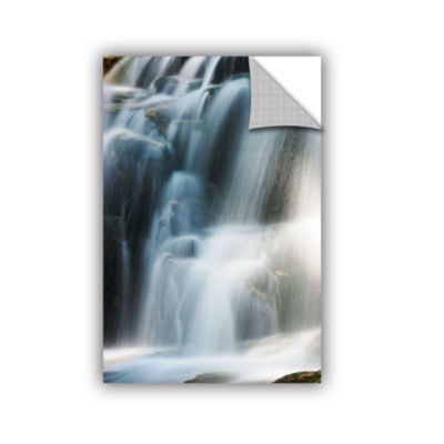 Brushstone Staircase Waterfall 2 Removable Wall Decal