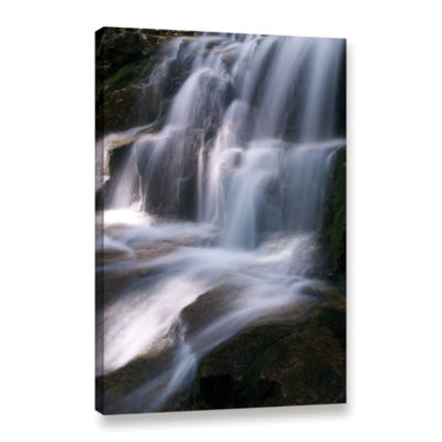 Brushstone Staircase Waterfall 3 Gallery Wrapped Canvas Wall Art