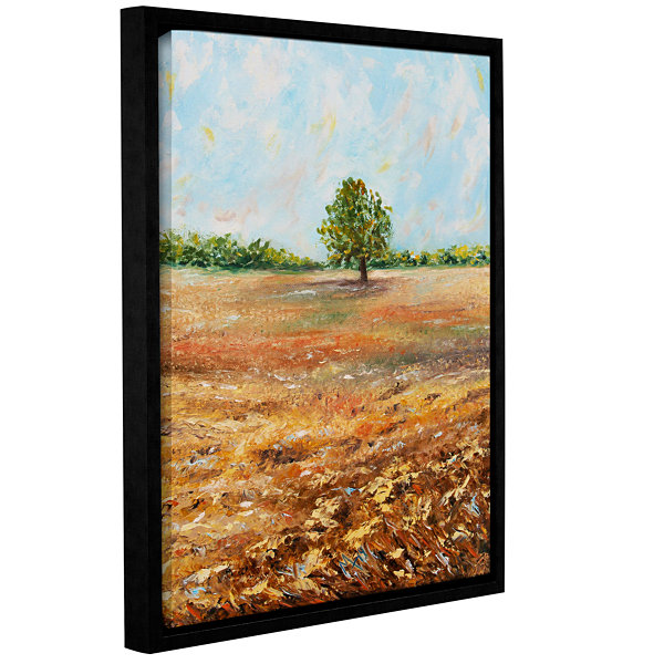 Brushstone Standing Firm Gallery Wrapped Floater-Framed Canvas Wall Art