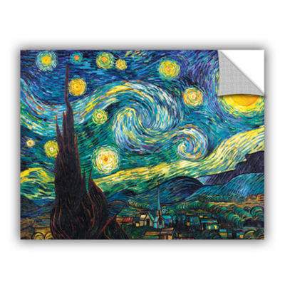 Brushstone Starry Night Removable Wall Decal
