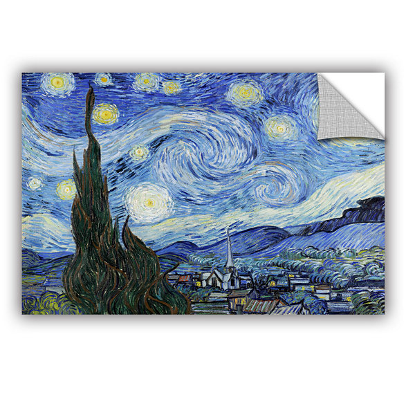 Brushstone Starry Night (Lighter version) Removable Wall Decal