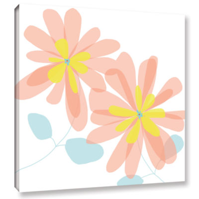 Brushstone Sun Kissed 1 Gallery Wrapped Canvas Wall Art