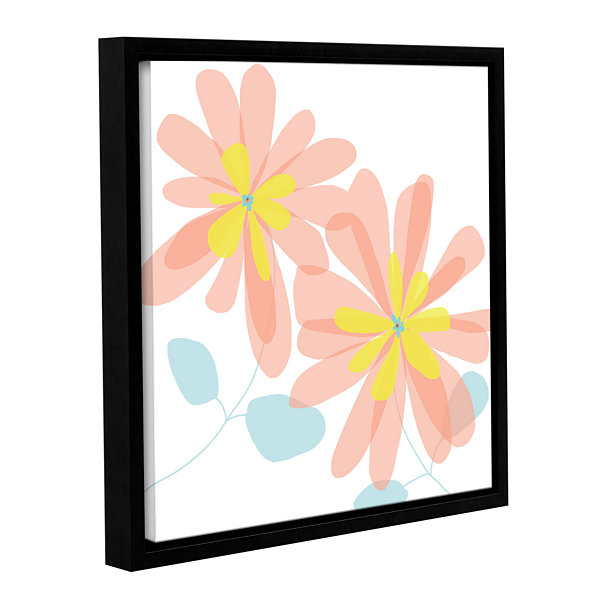 Brushstone Sun Kissed 1 Gallery Wrapped Floater-Framed Canvas Wall Art