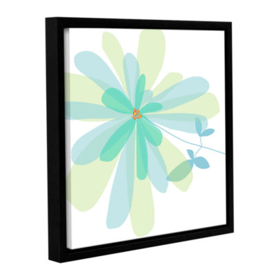 Brushstone Sun Kissed 2 Gallery Wrapped Floater-Framed Canvas Wall Art