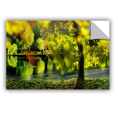 Brushstone Spring Pond Removable Wall Decal