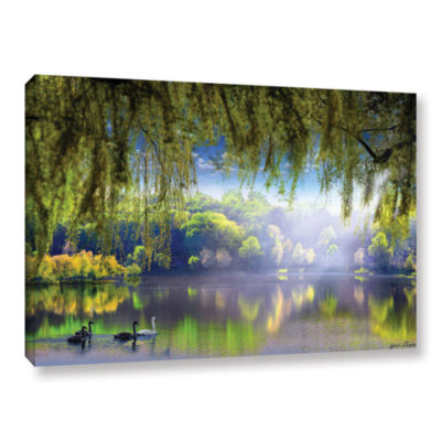 Brushstone Spring Waters Gallery Wrapped Canvas Wall Art